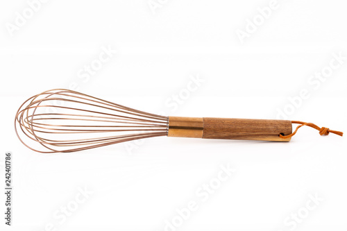 Photo  Bronze Wire Cooking Whisk