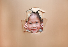 Little Asian Child Girl Lookin...