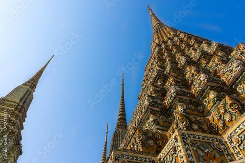 Photo  temple in bangkok thailand