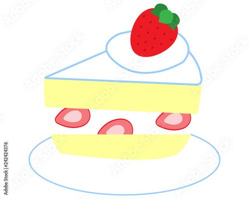 ショートケーキ Canvas-taulu