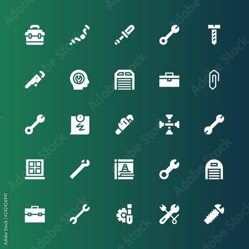 Fotografía  fix icon set
