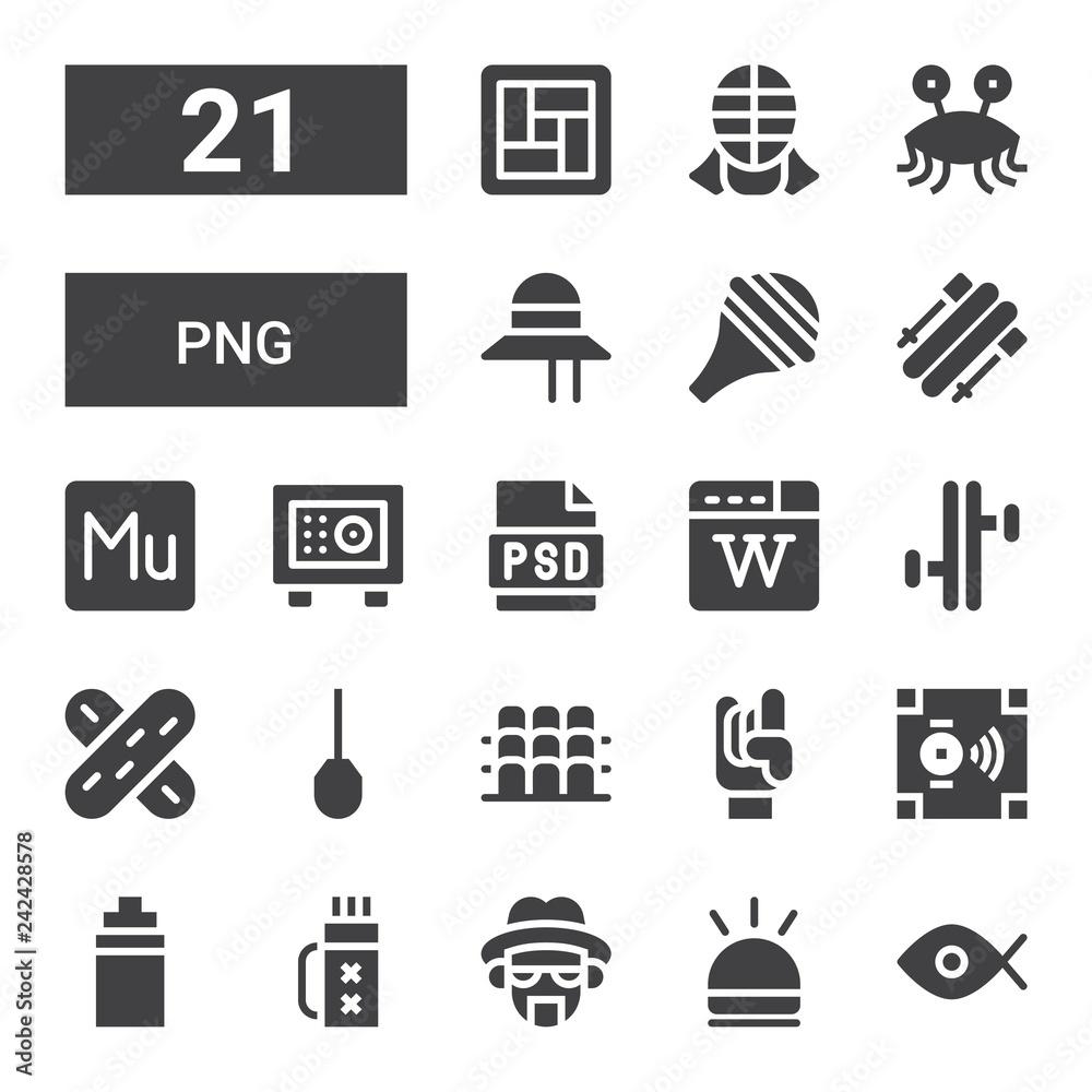 Photo  png icon set