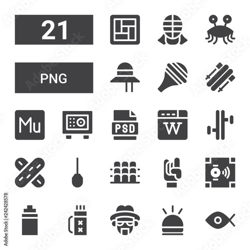 Photo  png icon set