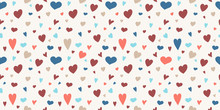 Cute Seamless Pattern With Col...