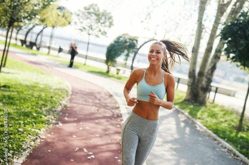 Foto  Running girl