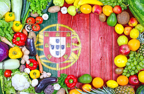 Fresh fruits and vegetables from Portugal