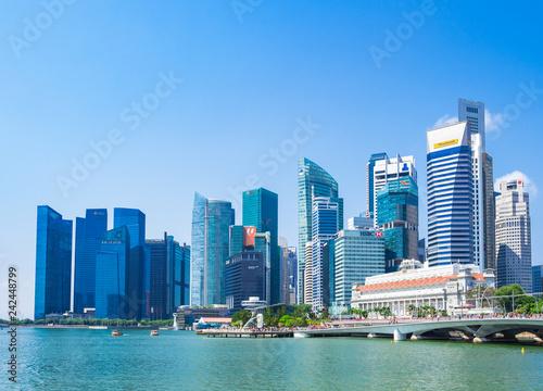 Photo  シンガポール マリーナ・ベイ