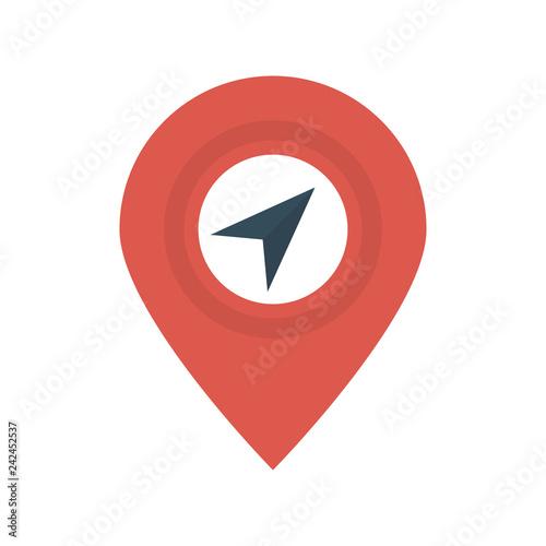 Fotografie, Obraz  navigation   map   direction