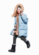 Mädchen Als Polarforscher