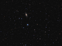 """""""Little Sombrero"""" Galaxy (NGC 7814) In Constellation Pegasus, Spiral Galaxy About 40 Million Light-years Away From Earth"""