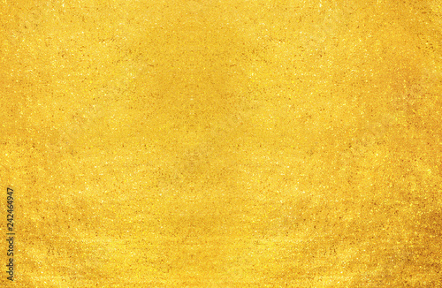 feuille d'or Canvas Print