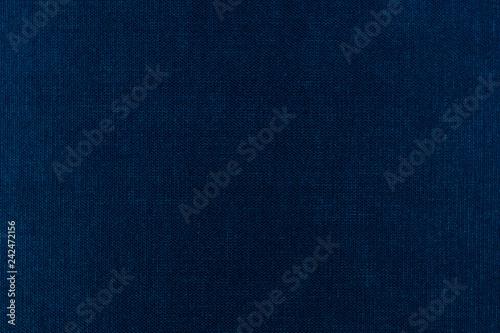 Fényképezés  fabric texture background blue