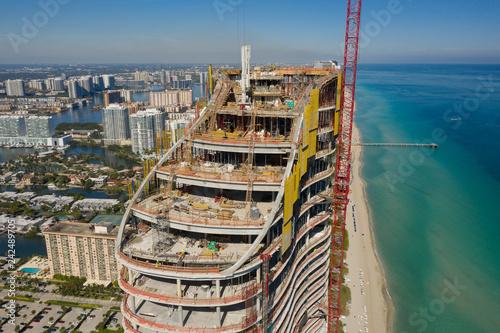 Staande foto Verenigde Staten Aerials The ritz Carlton Sunny Isles Beach FL