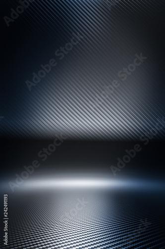carbon fiber background © tiero