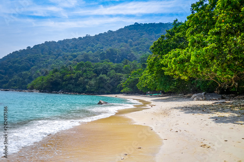 Keuken foto achterwand Asia land Turtle Beach, Perhentian Islands, Terengganu, Malaysia