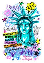 New York City Statue Of Libert...