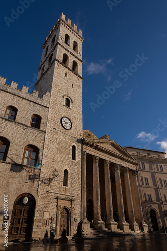 Fotografie, Obraz  Assisi, chiesa di Santa Maria sopra Minerva