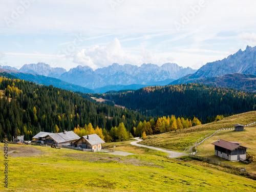 Fotografie, Tablou  Dolomites Mountains South Tirol