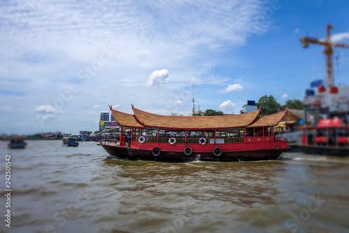 Keuken foto achterwand Asia land Chao Phraya River, Bangkok, Thailand