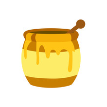 Honey Pot Emoji Vector