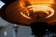 Closeup Of Outdoor Heating In ...