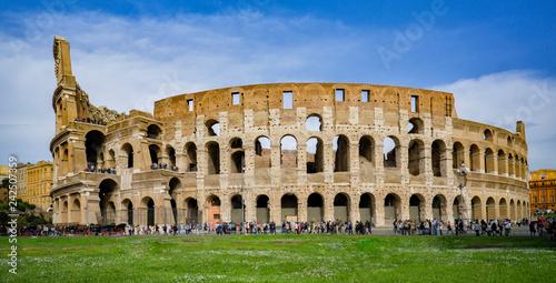 Fotografia, Obraz  Colosseum in Rome, Italy,selective focus.