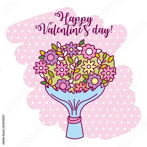 Deurstickers Hoogte schaal valentine day card