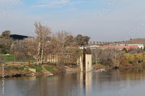 Foto auf AluDibond Stadt am Wasser Europe, Spain