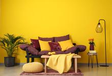Interior Of Beautiful Comfortable Living Room