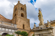 The Courtyard And Bell Tower O...