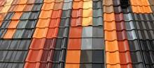 Neue Dachziegel In Verschiedenen Farben