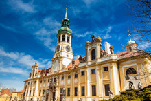 The Church Of Our Lady Of Loreto In Prague In A Beautiful Early Spring Day