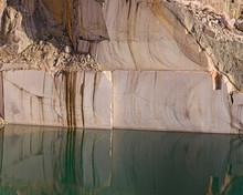 Calm Water Near Stone Quarry