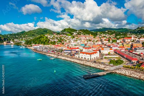 Obraz na plátně St George's, Grenada
