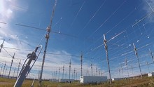 Time Lapse Over High Frequency Active Auroral Research Program (HAARP), Alaska, USA.