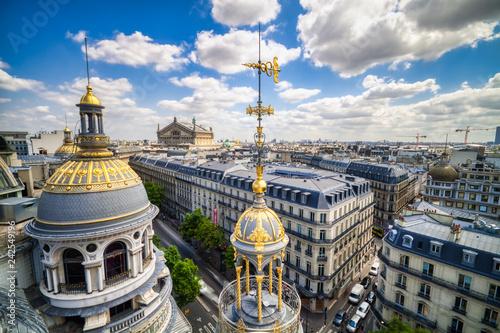Papiers peints Paris Aerial view of Paris During Sunny Day
