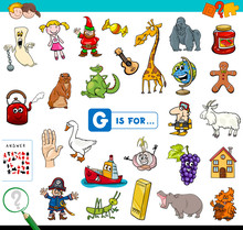 G Is For Educational Game For Children
