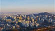 N seoul tower in seoul city south korea