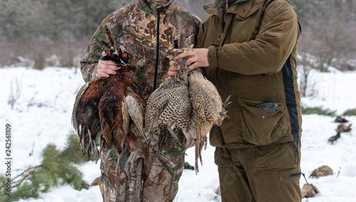 Valokuva  Hunting season, bird hunting