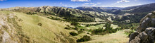 Panoramic View Of The Hills An...