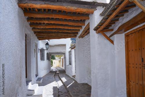 Alpujarras in Granada at Pampaneira Spain