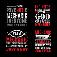 Mechanic Quote And Saying Good For Print