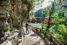 Taroko National Park In Taiwan.