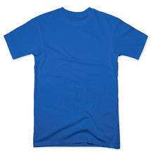 Blue Tee Shirt Mock Up