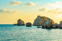Sunset View Over Petra Tou Rom...