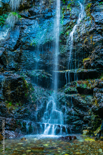 Caledonia waterfall at Troodos mountains on Cyprus