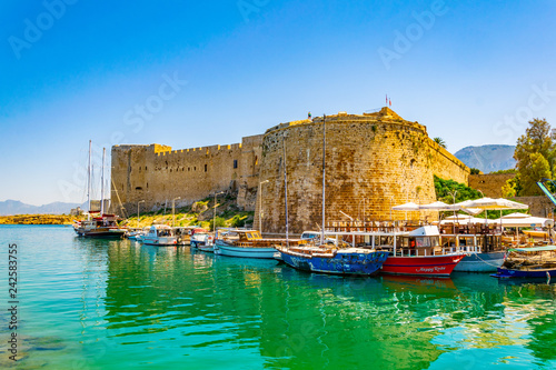 Staande foto Cyprus Kyrenia Castle situated in the Northern Cyprus