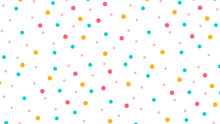 Abstract Pattern With Circle In Soft Gradient Pastel Background In Sweet Color