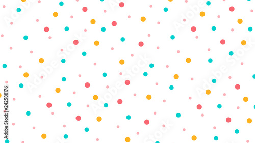 Obraz na plátne Abstract pattern with Circle in Soft gradient pastel background in sweet color