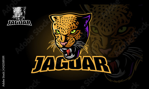 Tela Jaguar Vector Logo Template